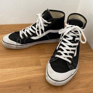 Vans Sk8-Hi SF Black Men's Size 11